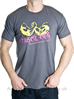 Muscle King Designer T-Shirts Arm Wrestle Grey