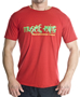 Muscle King  Designer T-Shirts Logo Chest Red