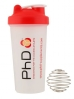 PhD Shaker Mixer bottle 700ml with Wire Ball