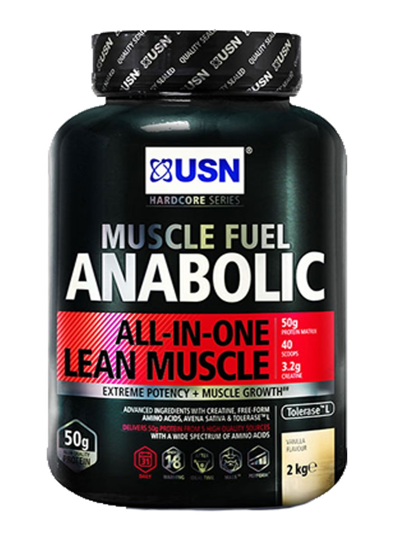 usn muscle fuel anabolic strawberry 2kg